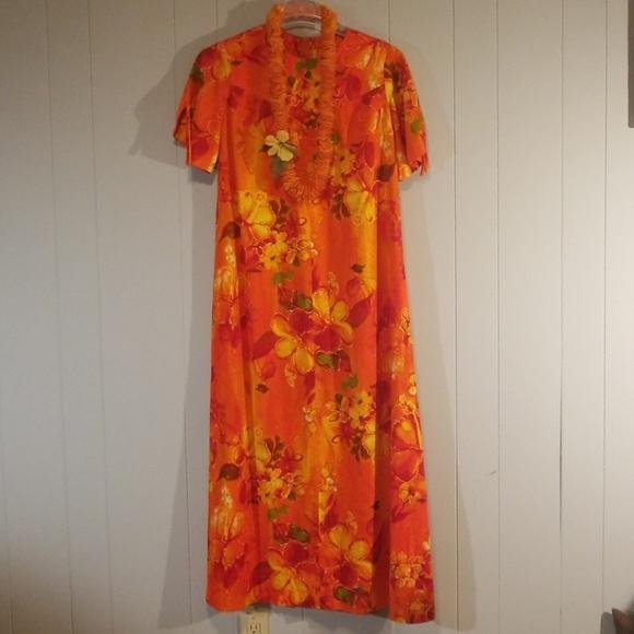 3ac06c8973a3 Hawaii Wear Inc Dresses | Authentic Vintage Hawaiian Moo Moo Lei ...